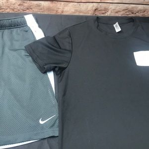 Nike athletic shorts /Expert performance shirt B44